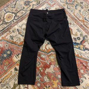 lululemon Black Cropped Leggings - 12